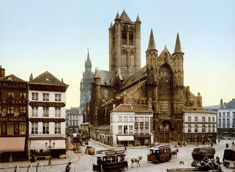 Free Saint Nicholas' Church - Ghent Belgium
