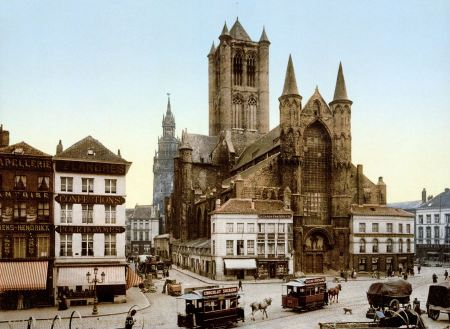 Free Saint Nicholas' Church - Ghent Belgium