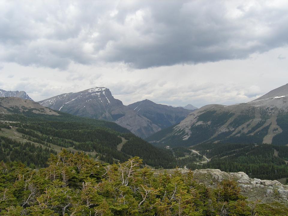 Free Banff hiking. Sunshine Meadows