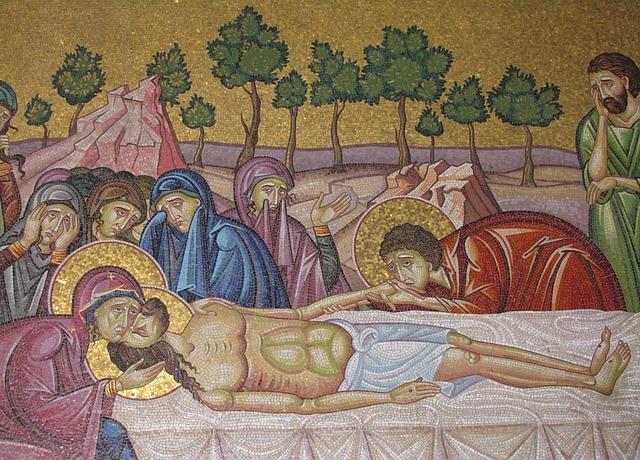 Free christian mosaic jesus