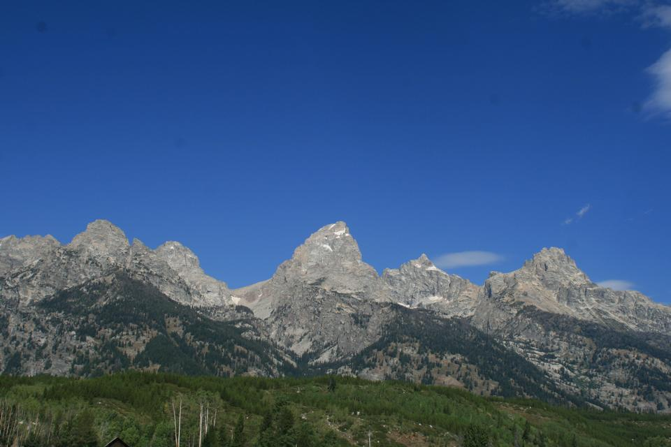 Free Middle Teton, Grand Teton and Mount Owen