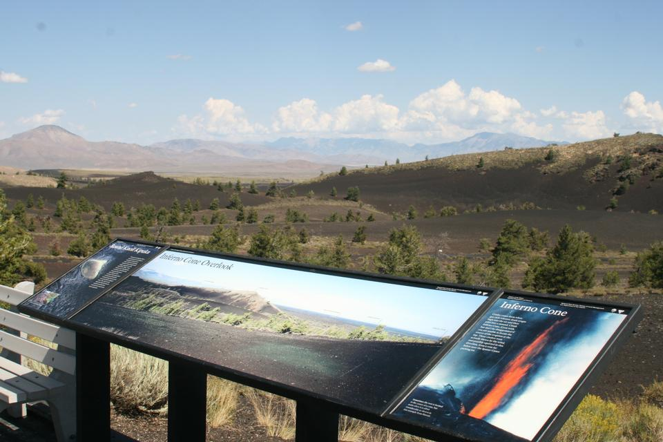 Free Craters of the Moon -  Inferno Cone Overlook