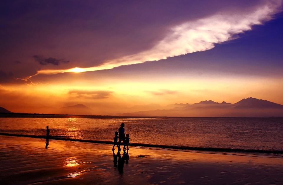 Free Sunset Da Nang Vietnam