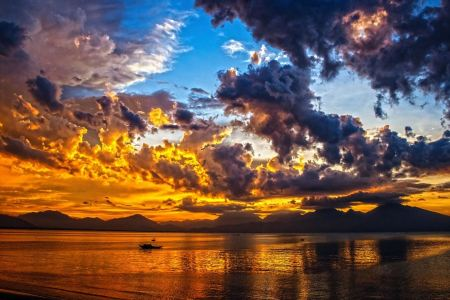 Free Sunset Sky Cloud Da Nang Bay