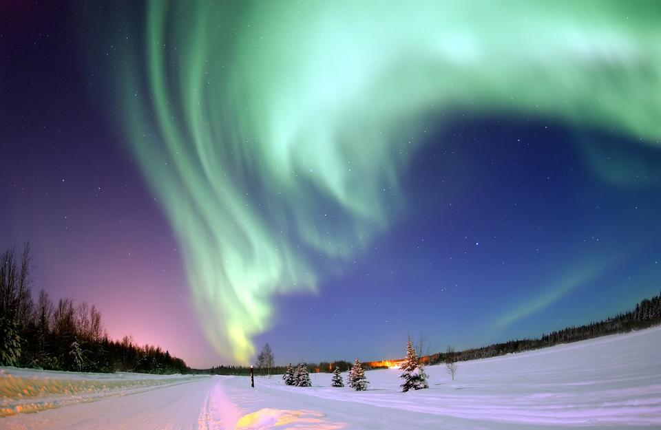 Free Aurora Northern Lights North Pole