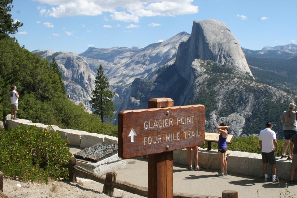 Free Yosemite National Park Hikes Glacier Point