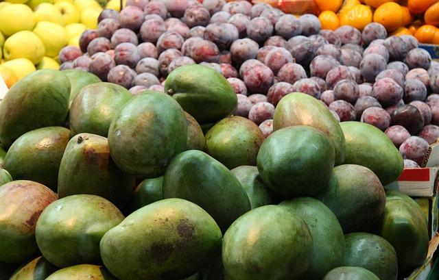 Free fresh mango market