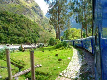 Free Train Zugfahrt Andes  Machu Picchu