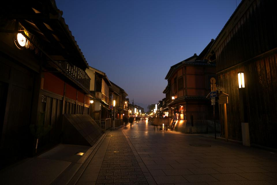 Free Saturday Night in Gion, Kyoto