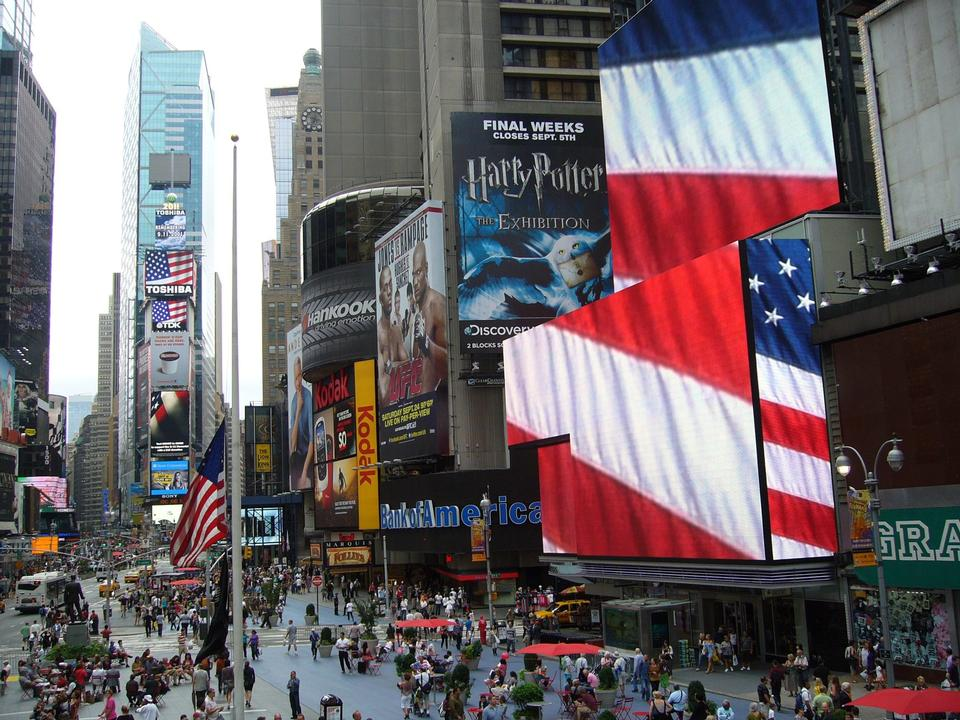 Free Broadway Show Billboards in Times Square New York