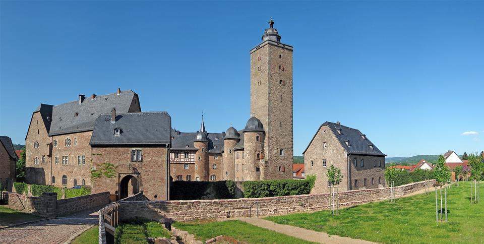 Free Castle Fortress Steinau Germany