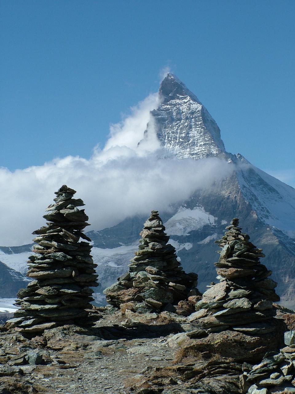 Free Switzerland Valais Mountains Matterhorn