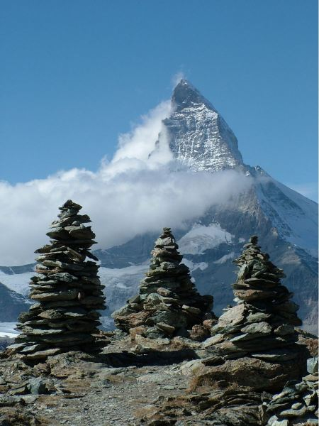 Free Switzerland Valais Mountains Matterhorn