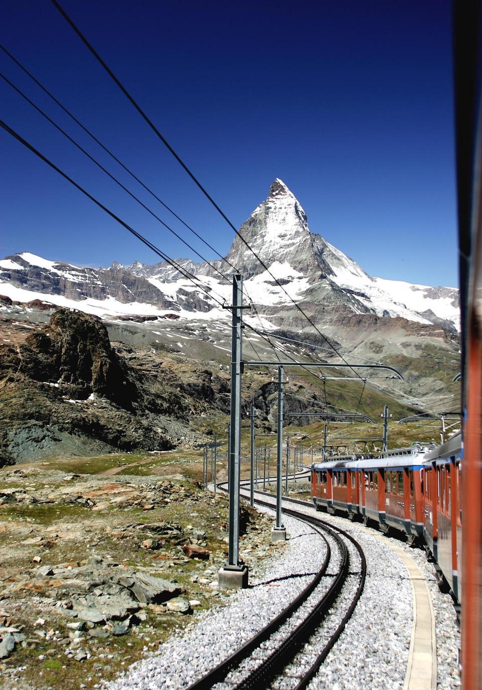Free Railway Bernina Railway Winter