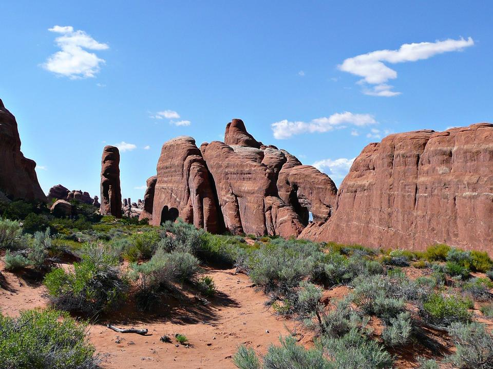 Free Tunnel Arch Arches National Park Tourism