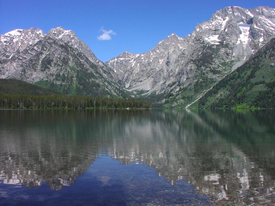 Free Grand Teton National Park Wyoming Leigh Lake