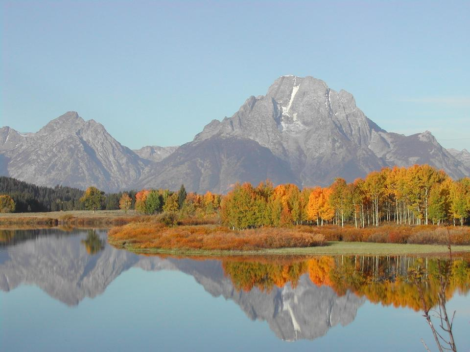 Free Grand Teton National Park Wyoming Lake