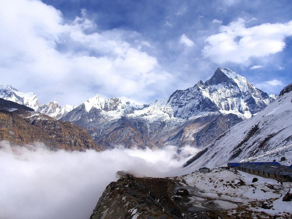 Free Nepal Himalayas Mount Everest Mountains