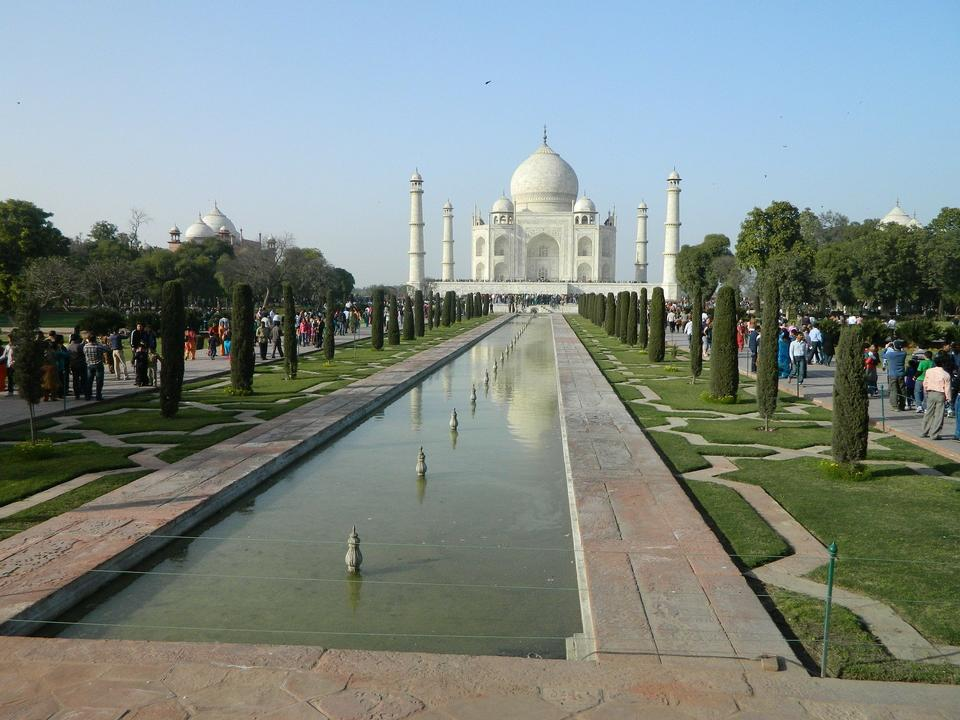 Free India Taj Mahal Agra Temple