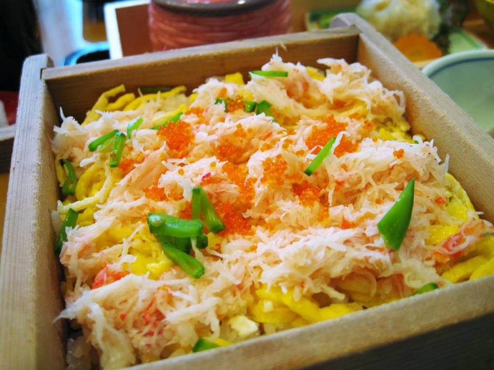 Free The Crab Chirashi - Japanese Food