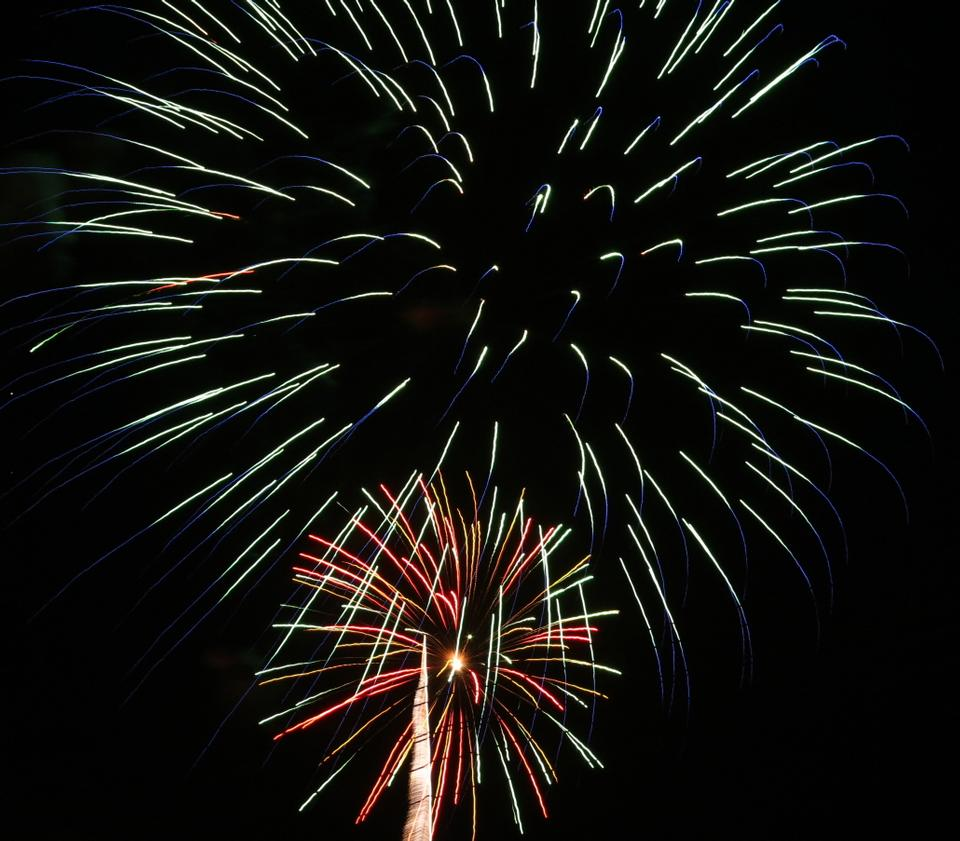 Free firework at gaithersburg. md