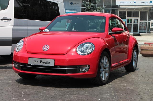 Free beetle car red volkswagen transportation