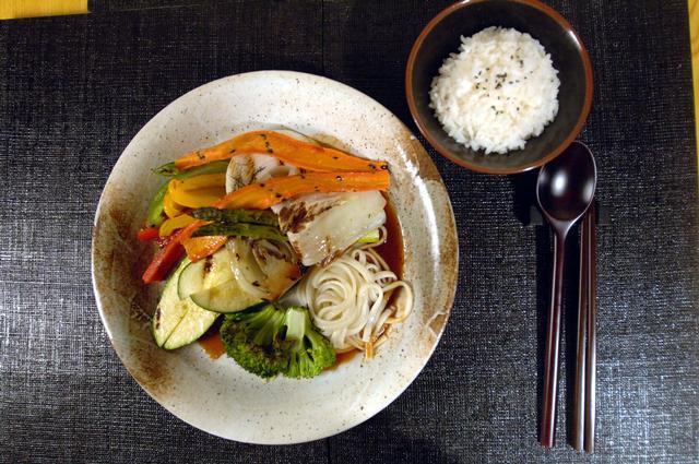 Free Dinner Vegeterian Teriyaki