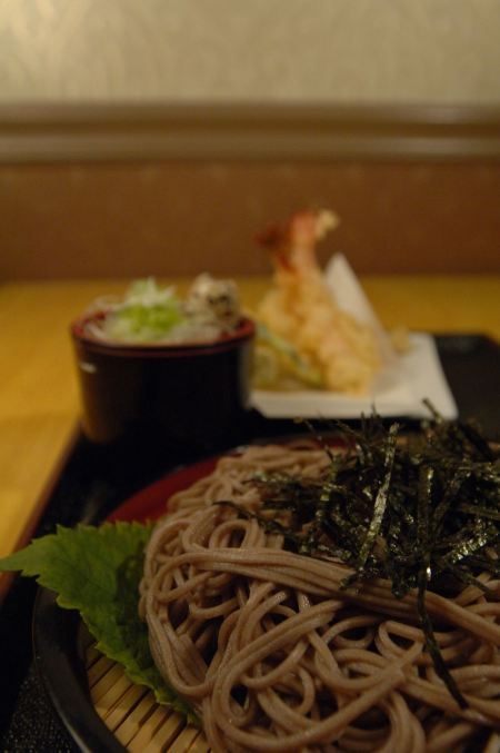 Free Dinner Ten-Zaru Soba
