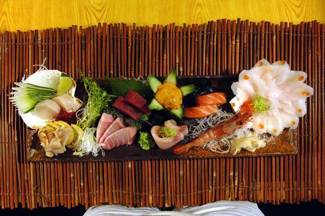 Free Dinner Sashimi Omakase