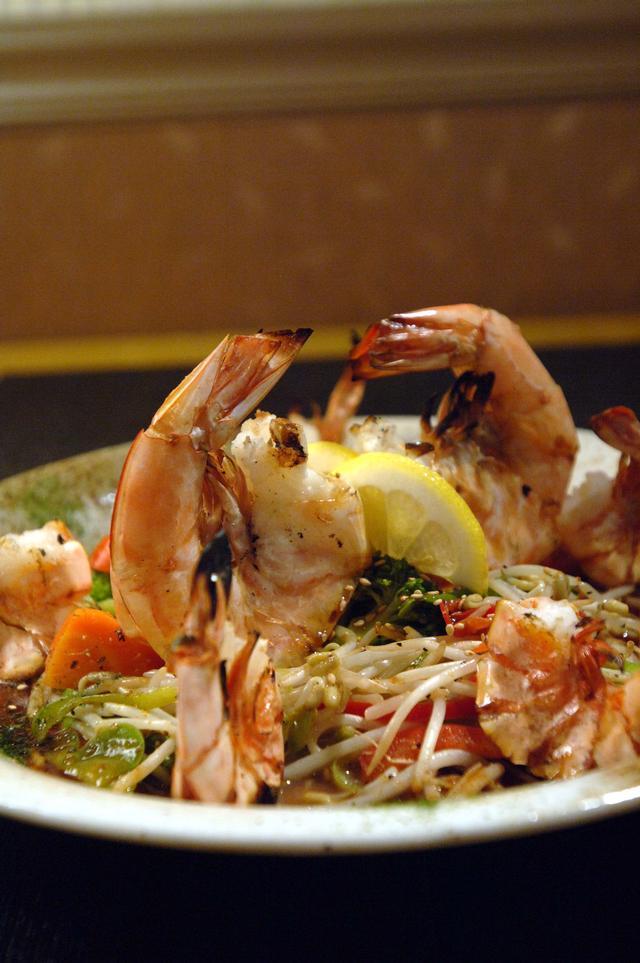 Free Dinner Grilled Shrimp Teriyaki