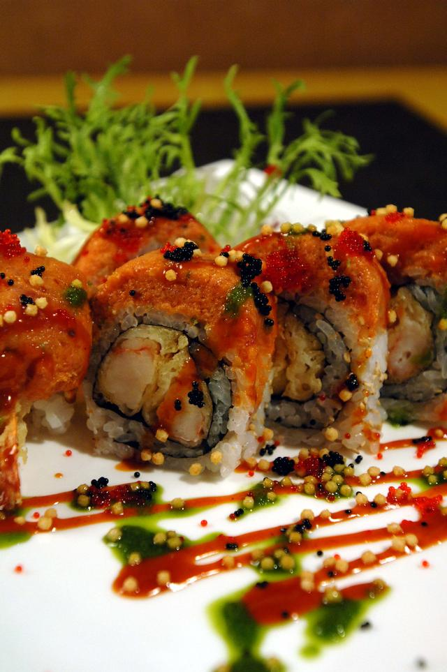 Free Japanese Food Red Skins Roll