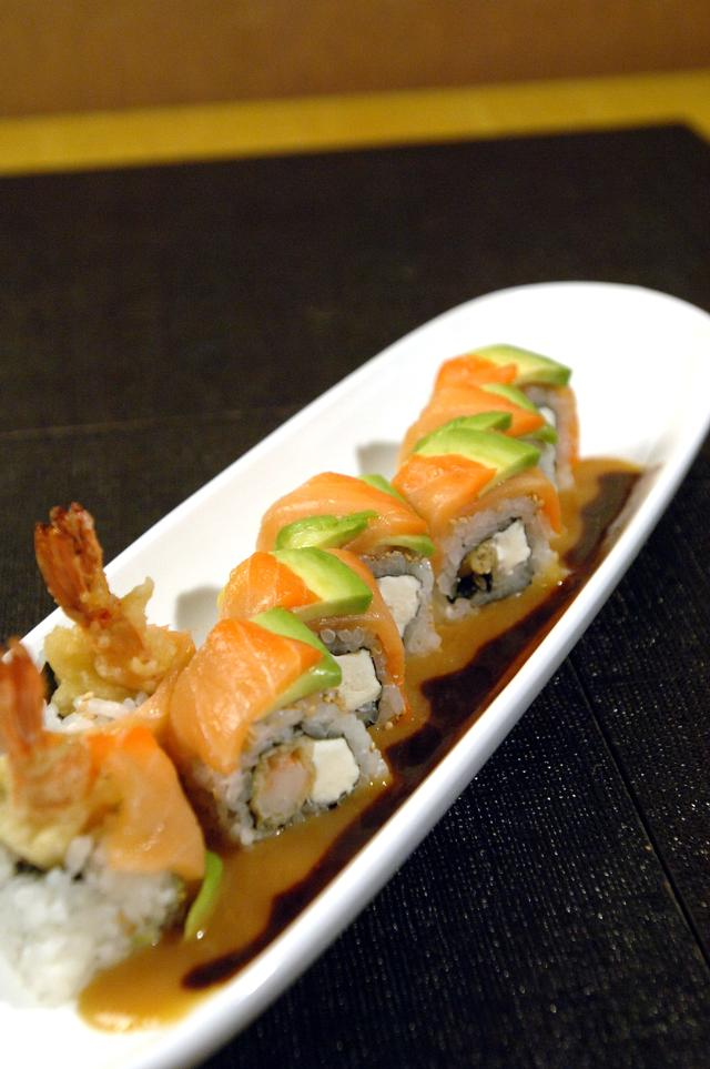 Free Japanese Food Crazy Horse Roll