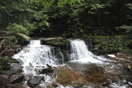 Free Waterfalls in Ricketts Glen State Park