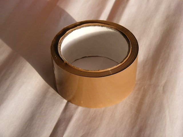 Free adhesive brown buff packaging polyproylene tape
