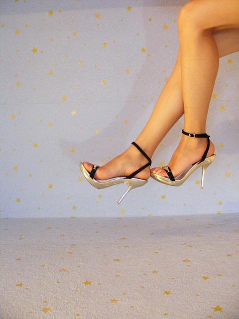 Free erotic heels high legs sexy stilettos woman