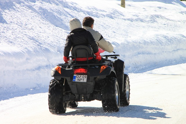 Free atv cold off road road snow terrain vehicle