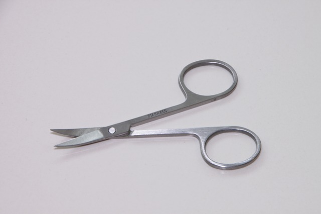 Free metal nail scissor sharp stainless steel toenail