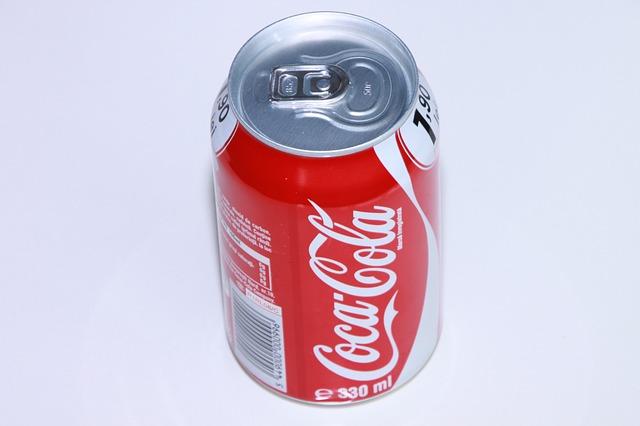 Free can coca coke cola editorial food drink