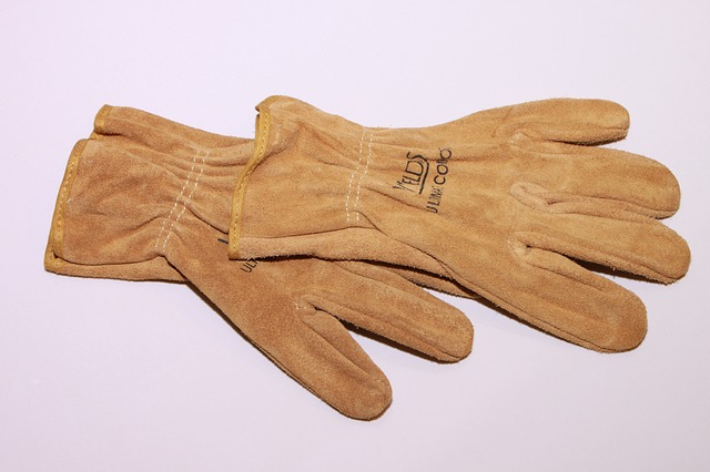 Free gloves leather mechanic safety work industries