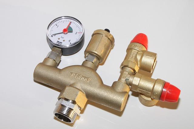 Free air vent boiler brass group heating manometer
