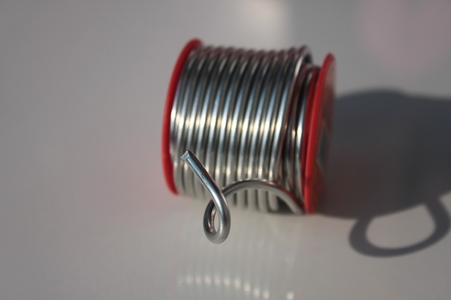 Free copper metal silver solder tin wire chemical