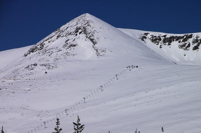 Free cold mountains papusa peak retezat snow top