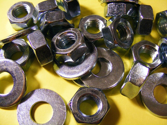 Free industries bolt-and-nut bolt nut-002