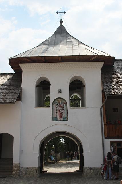 Free buildings church gorj monastery polovragi religion