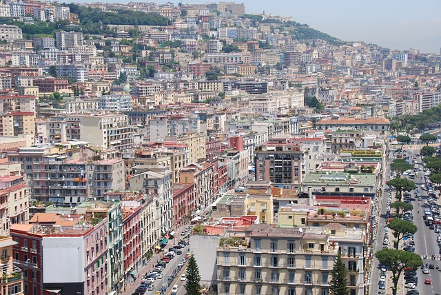 Free buildings city crowded italy naples architecture