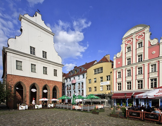 Free Photos: Szczecin poland city sky clouds urban buildings | David Mark
