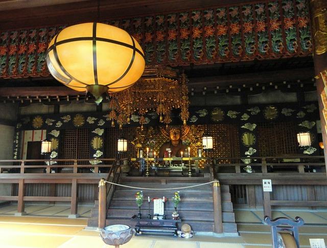 Free kyoto japan temple building structure faith