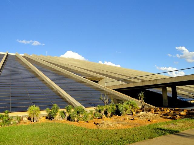 Free brasilia brazil sky clouds building museum