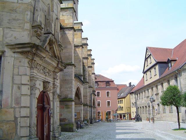 Free bayreuth bavaria germany city urban buildings