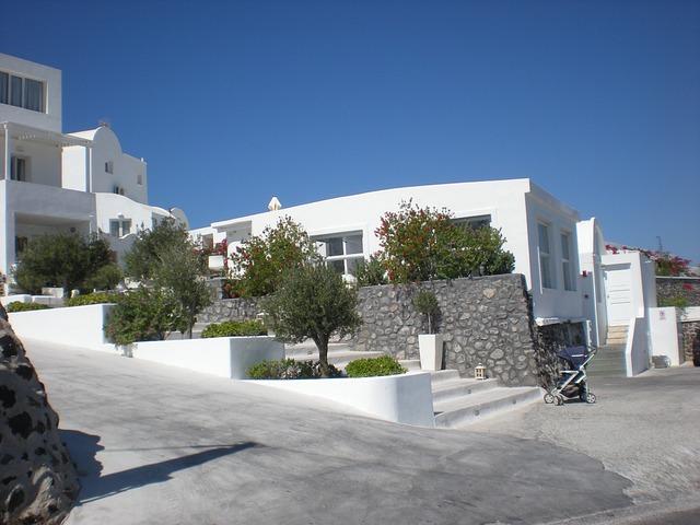 Free santorini greek island greece marine caldera